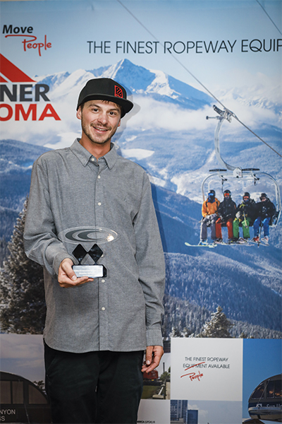 Brandon McFadden Telluride  Terrain Master of the Year