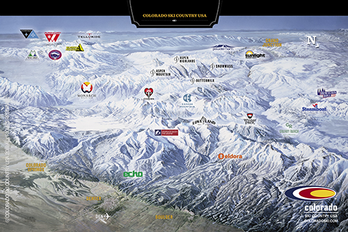ski resort colorado map Hello From Your Friends At Colorado Ski Country Colorado Ski