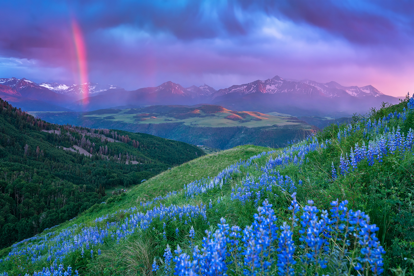 Telluride 20160629 Telluride Sunset Ryan Bonneau
