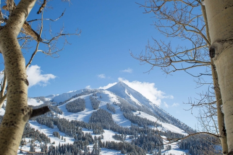 A scenic view of Crested Butte Mountain Resort.