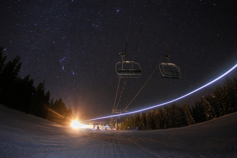 Copper night skiing