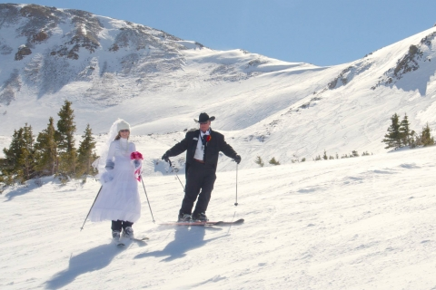 Mountaintop Matrimony at Loveland Ski Area.
