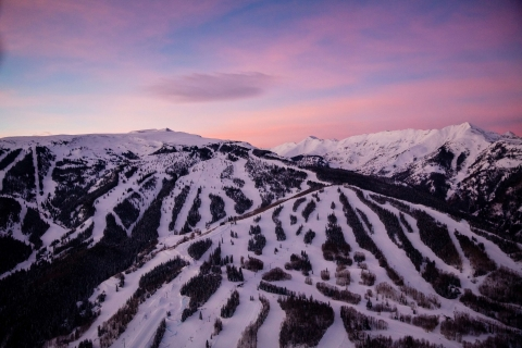 Sunset at Snowmass