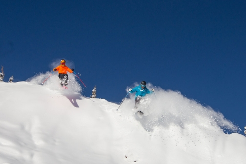 Powder Day Doubles in Aspen