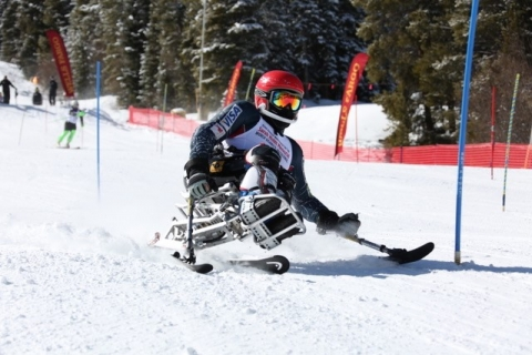 Wells Fargo Ski Cup. Photo courtesy of the National Sports Center for the Disabled.