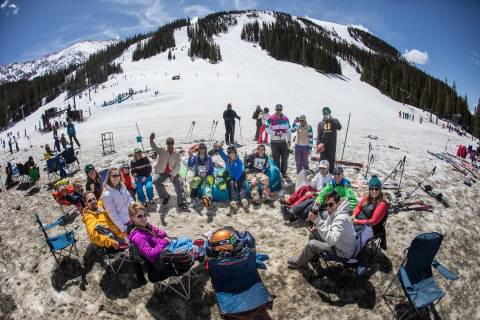 Arapahoe Basin Beach Party