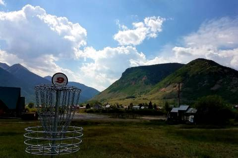 Kendall Mountain's Disc Golf Course.