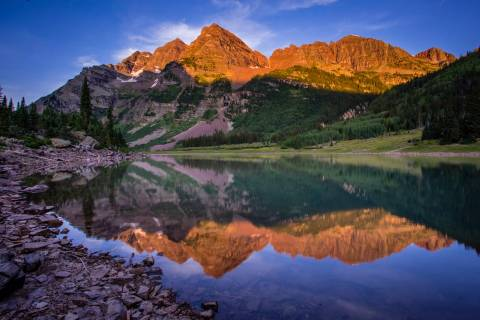 Maroon Bells at Aspen Snowmass