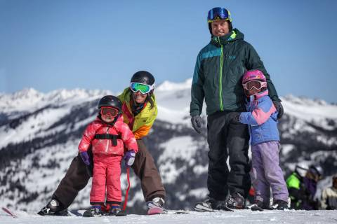 Copper Mountain Family Skiing