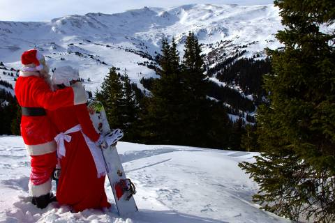 Santa at Loveland Ski Area
