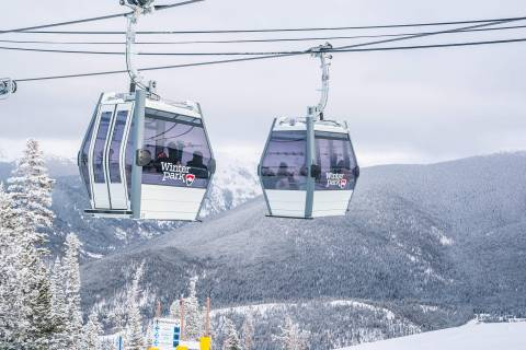 New Gondola at Winter Park.