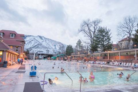 Glenwood Hot Springs.