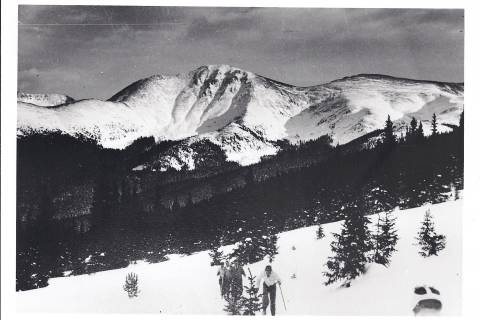 Photo provided courtesy of Winter Park Resort. According to historical records, likely taken in the 1940s.