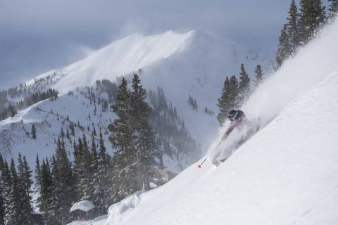 Powder skiing at Aspen Snowmass.