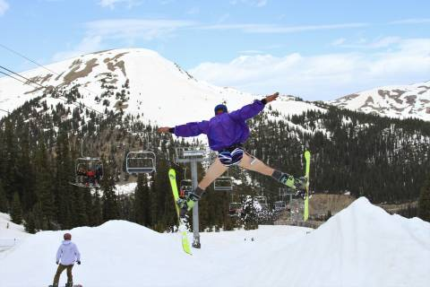 Spring Skiing at Arapahoe Basin