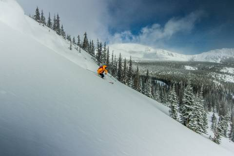 Powder at Monarch Mountain