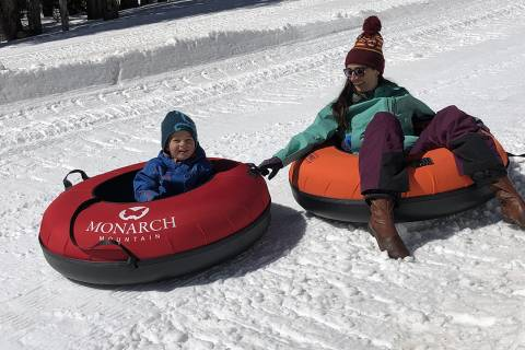Tubing at Monarch Mountain