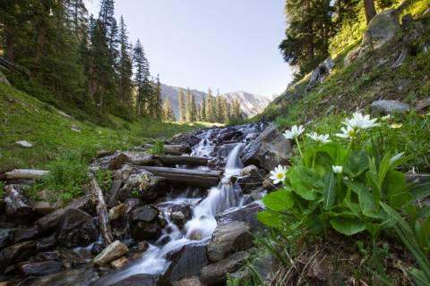 Water Fall near Arapahoe Basin