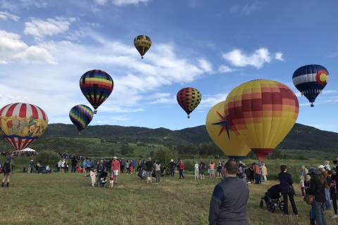 Hot Air Balloon Fest in Steamboat Springs