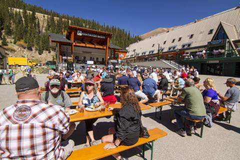 Oktoberfest at Arapahoe Basin