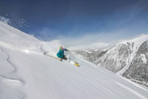 Skiing the Steeps at Arapahoe Basin