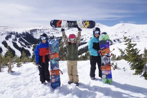Kids Enjoying Loveland Ski Area - Dustin Schaefer