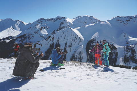 Filmmaking at Silverton Mountain