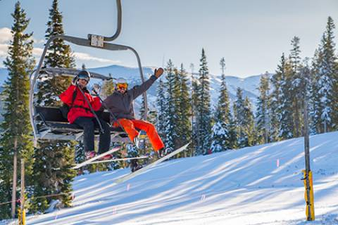 Opening Day at Winter Park - Carl Frey