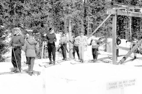 Monarch Mountain Historic Photo
