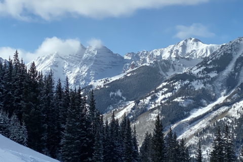 Loge Peak from Aspen Highlands