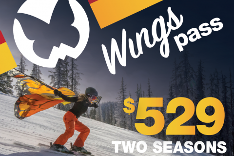 Buy One Season Pass and Ski For TWO Seasons At Monarch