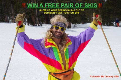 Spring Skiing Giveaway