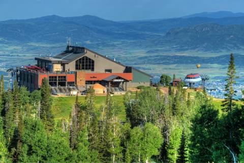 Steamboat Resort in the Summer
