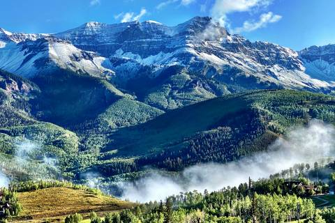 First Snow in Telluride