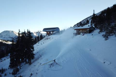Snow Making at Loveland Ski area