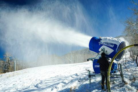 Snow Gun at Powderhorn