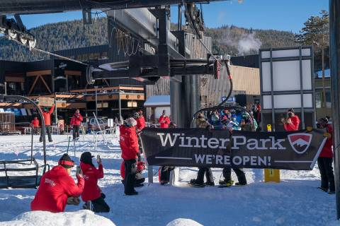Winter Park opening day