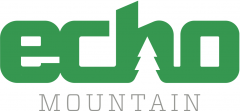 Echo Mountain Logo Green