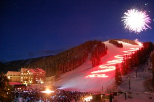 Torchlight at Winter Park