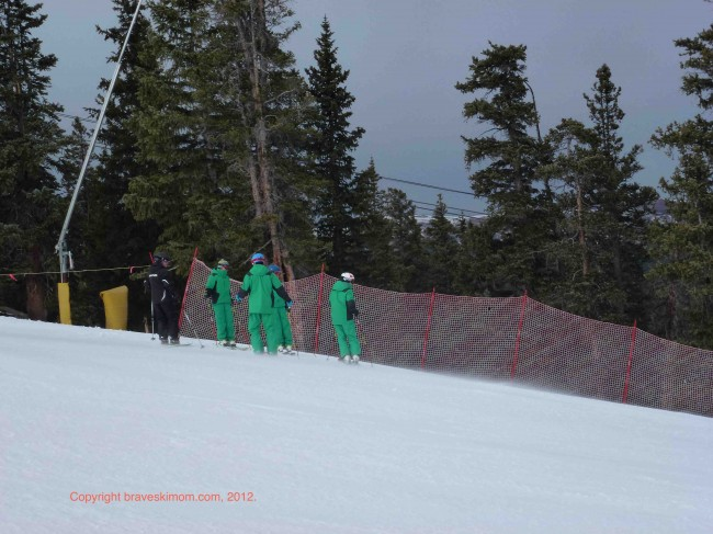 Members of the PSIA AASI Alpine Team