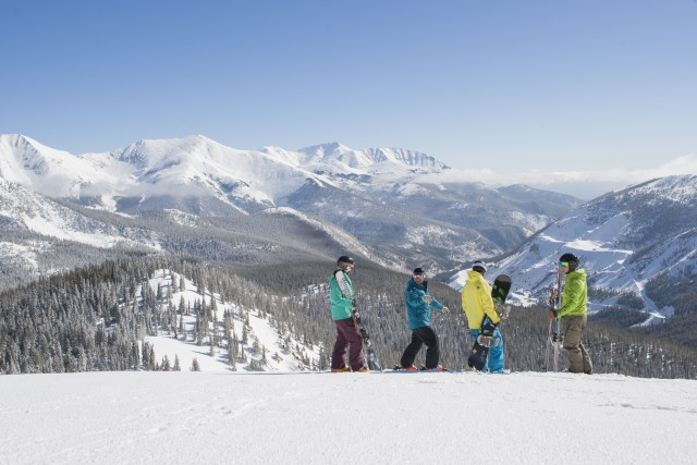 The views above 12,000 feet are spectacular. Photo courtesy of Monarch Mountain.