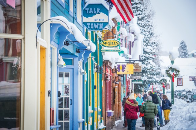 Downtown Crested Butte. Photo by Trent Bona.