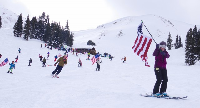 Photo courtesy of Dustin Schaefer at Loveland Ski Area.