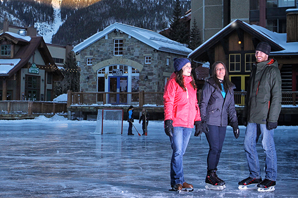 Ice Skating at Copper Mountain