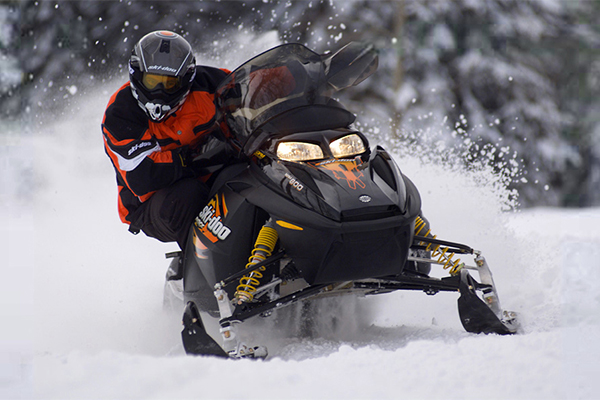 Snowmobiling at Sunlight Mountain Resort