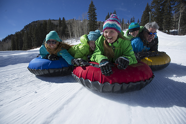 Tubing at Purgatory Resort