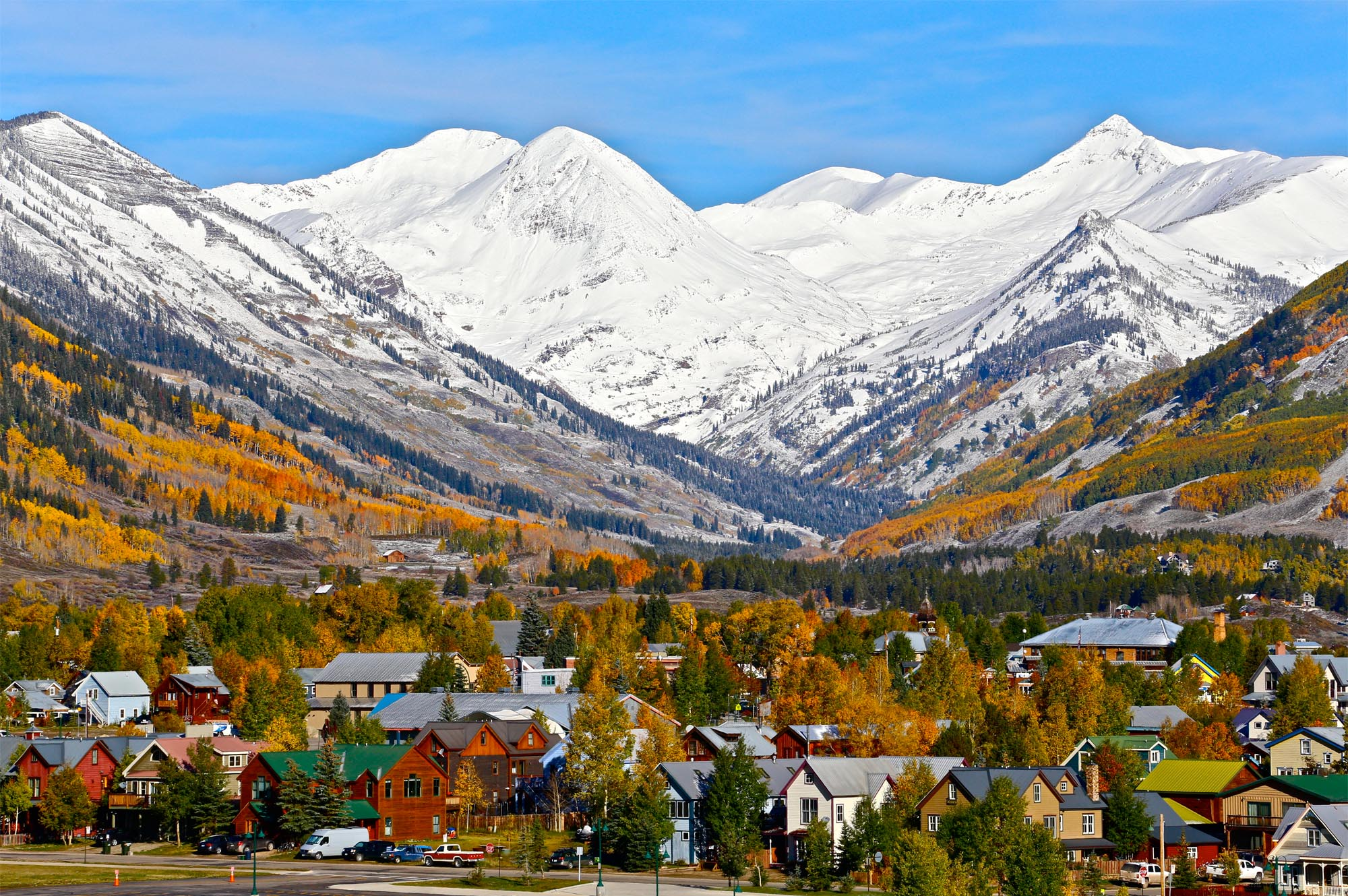 wordless wednesday paradise divide at crested butte colorado ski