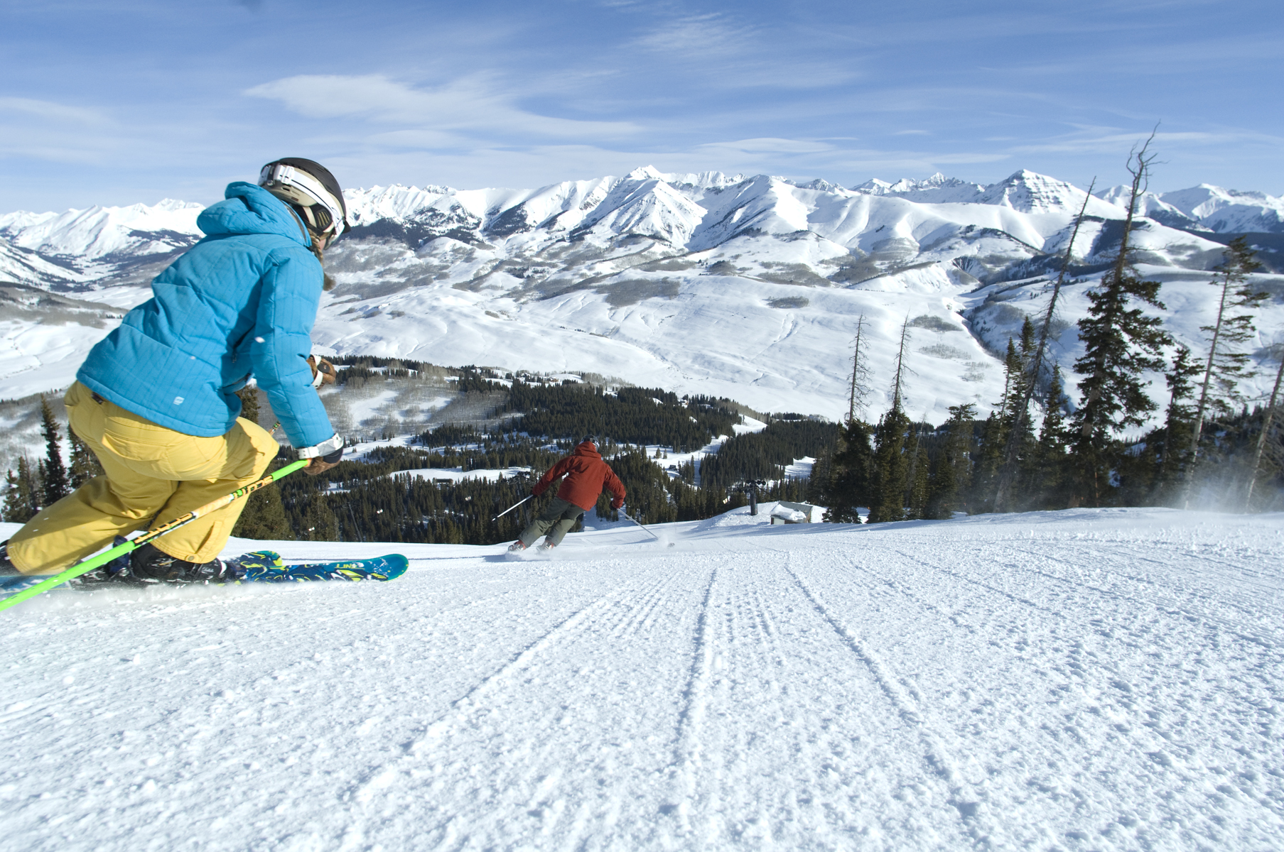 crested butte mountain resort : a patrollers paradise - colorado ski